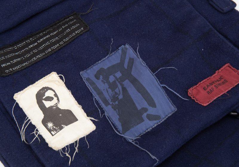 RAF SIMONS x EASTPAK Patched Design Shoulder Bag