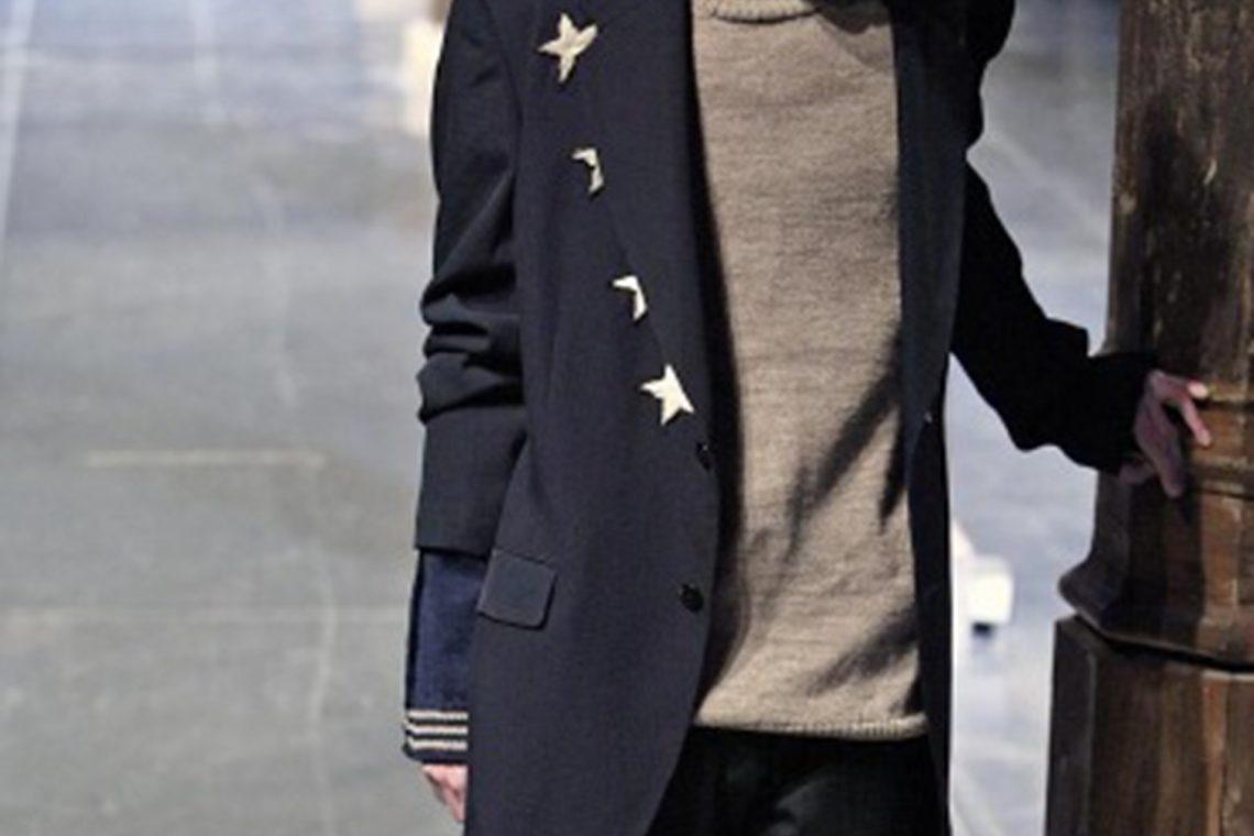 2006A/W Yohji Yamamoto POUR HOMME Stars Embroidery Jacket