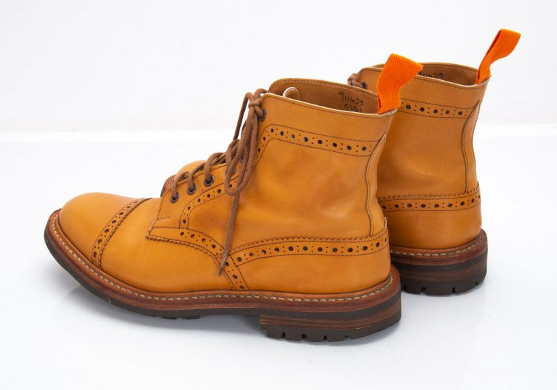 JUNYA WATANABE MAN x Tricker's Leather country Boots