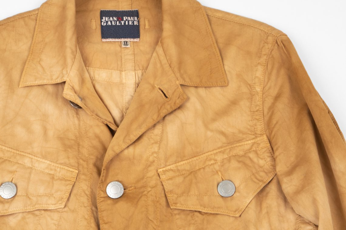 Jean's Paul GAULTIER Uneven Dyed Jacket