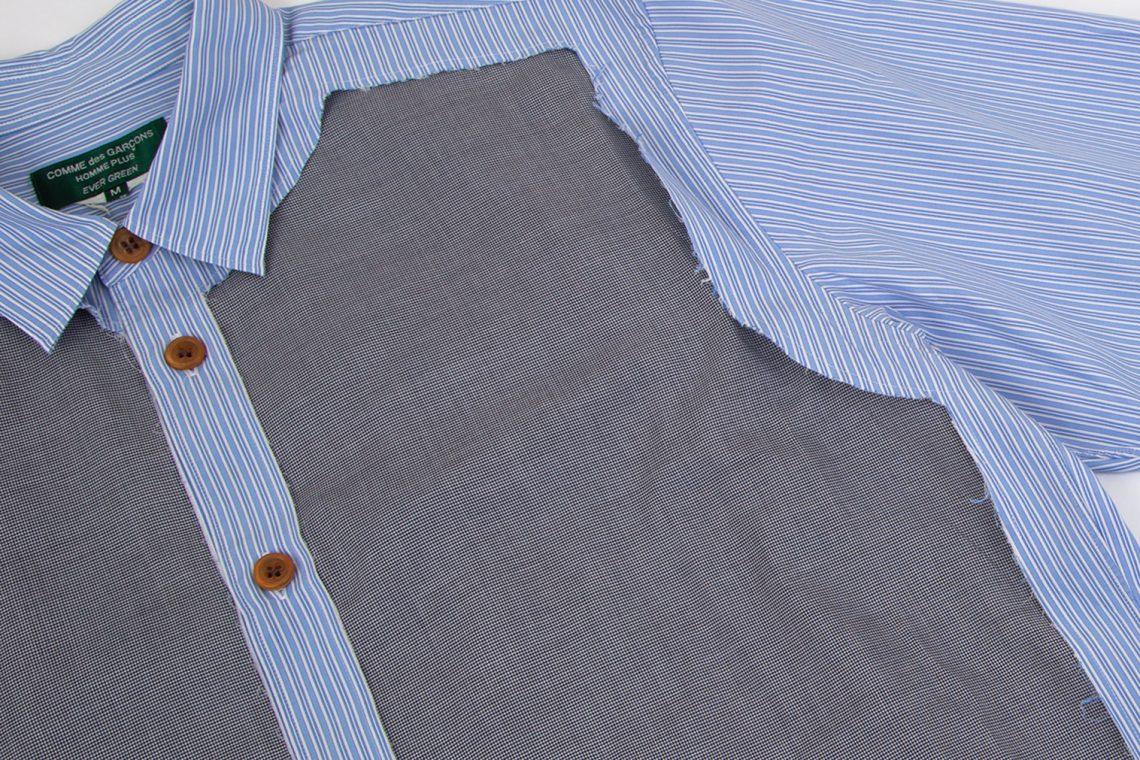 COMME des GARCONS HOMME PLUS EVER GREEN Cut Design Shirt