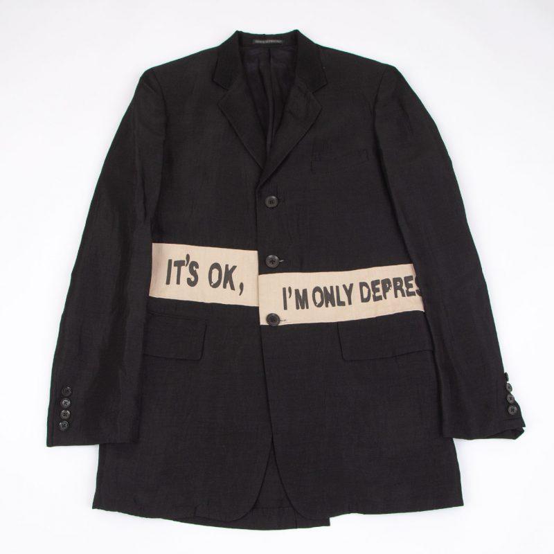 Yohji Yamamoto POUR HOMME 2008S/S Message Switching Jacket