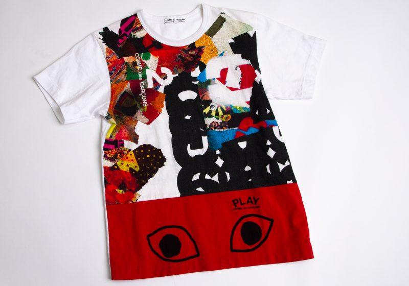 COMME des GARCONS Eye Printed T shirt