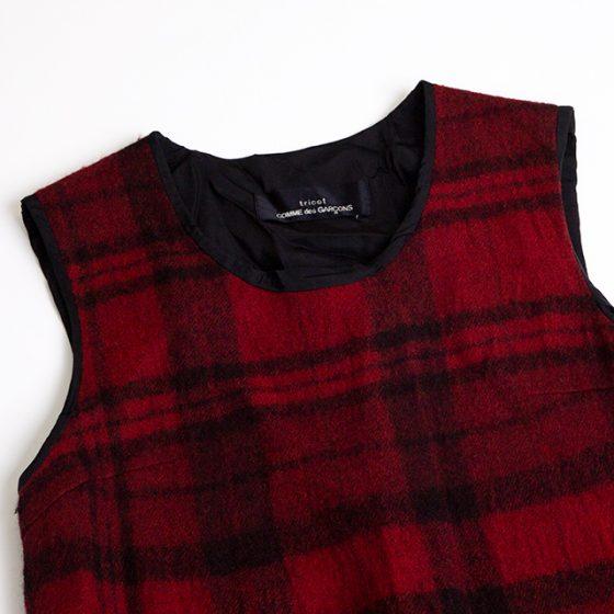 tricot COMME des GARCONS Tartan check Dress