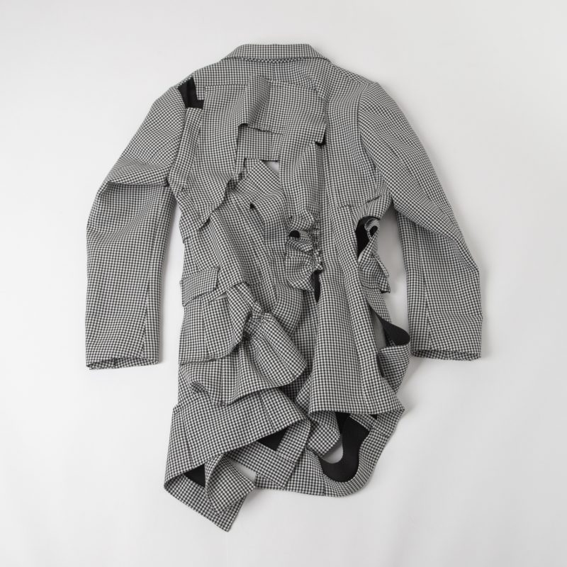 COMME des GARCONS AD2013 Puppy tooth Cutting Design Jacket