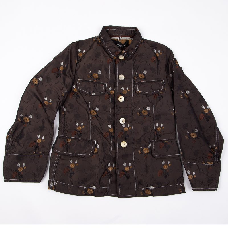 tricot COMME des GARCONS Flower Embroidery Shirt