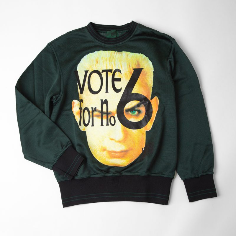 Junior Gaultier Jean Paul Gaultier AW1991 GAULTIER Vote for no 6 sweater