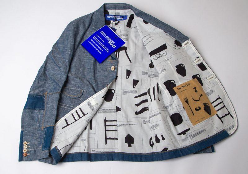 Junya Watanabe MAN The Hard Life Lining Printed Jacket