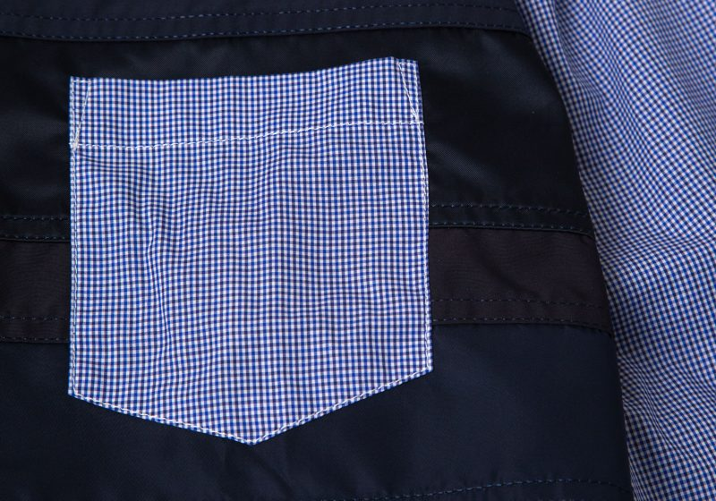 COMME des GARCONS HOMME AD2020 Plaids Switching Shirt
