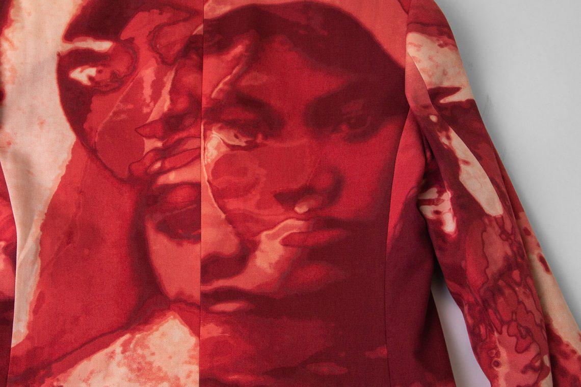 Jean Paul GAULTIER Face Printed Jacket