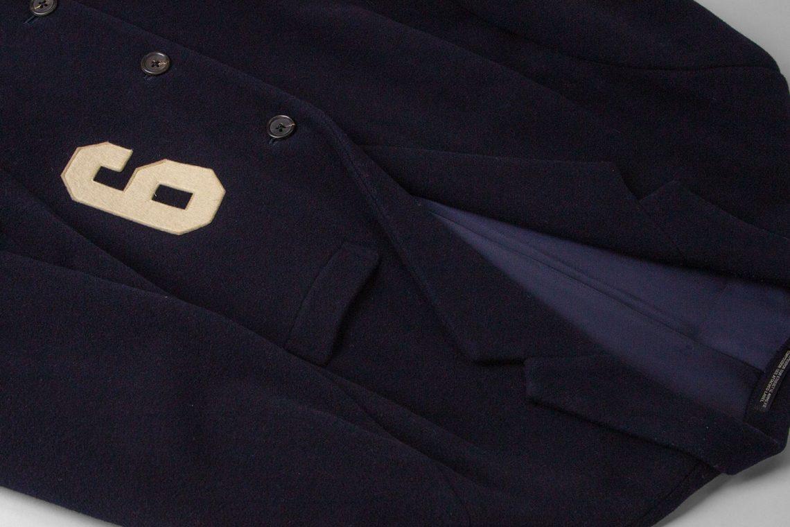 """Yohji Yamamoto POUR HOMME 1987A/W """"9"""" Wappen Jacket"""