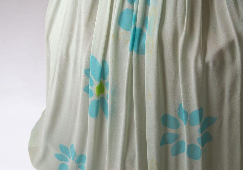 Yohji Yamamoto FEMME 1996S/S Floral Silk Tulle Flare Skirt