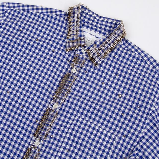 COMME des GARCONS SHIRT Pin & Studs Decorated Shirt